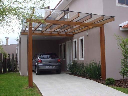 Telhado De Vidro para Garagem