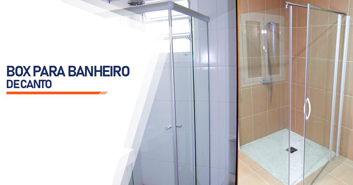 Box de Canto para Banheiro  Osasco