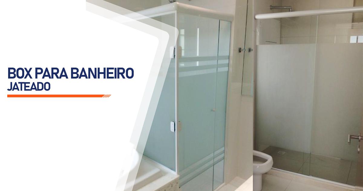 Box Jateado para Banheiro Osasco