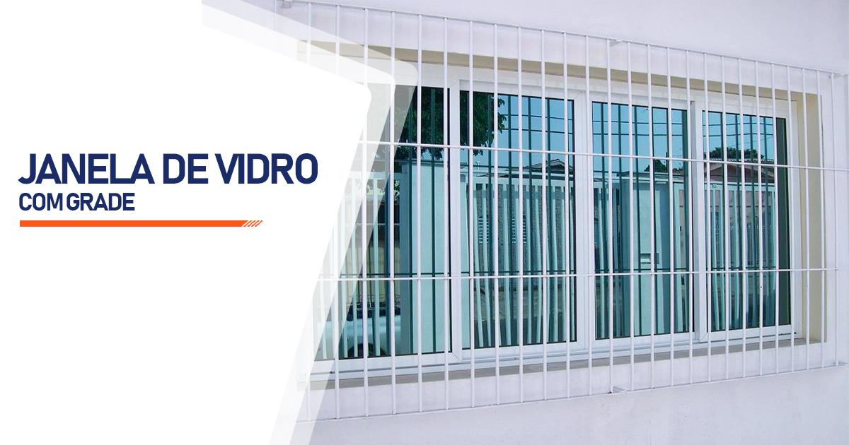 Janela De Vidro Com Grade Osasco