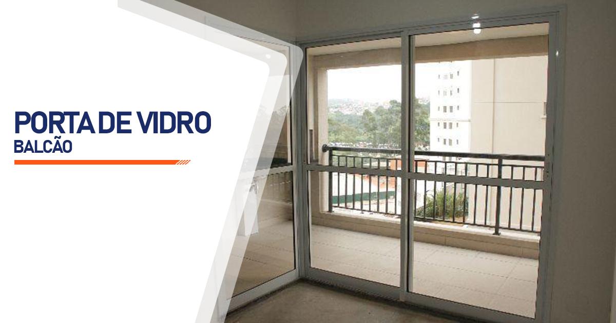 Porta Balcão De Vidro Osasco