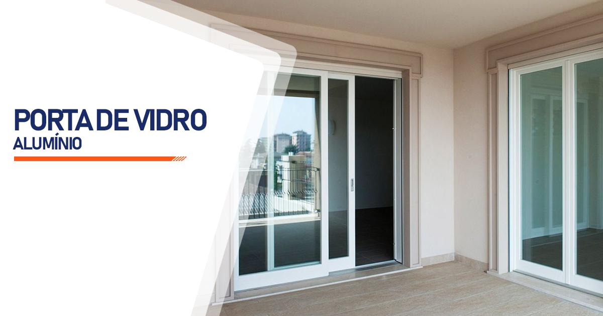 Porta De Vidro Aluminio Osasco