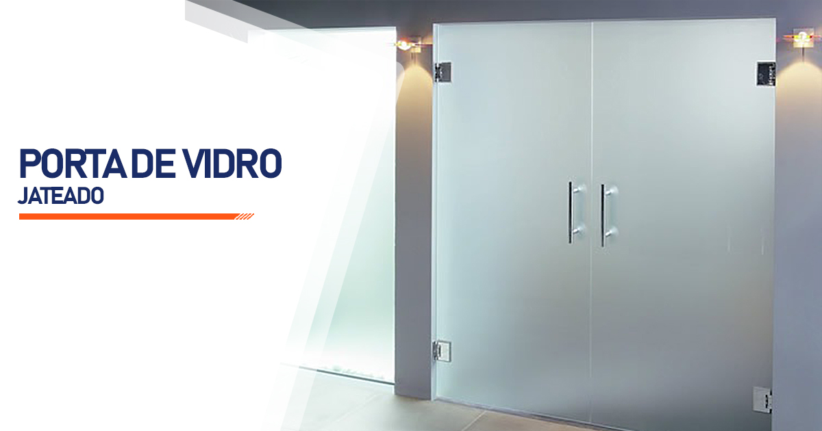 Porta De Vidro Jateado Osasco